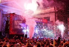 Ring in the New Year at Three NYE (New Year's Eve) Dublin Festival - Absolute Limos