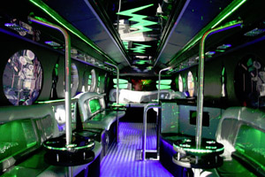 The Amazing 36 Seater Party Limo Bus is the perfect way to get to your Party! - Absolute Limos